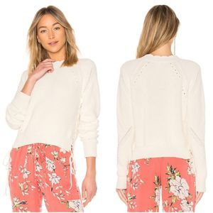 Joie Adanya Lace-Up Sweater